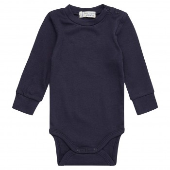 Griffiger Langarmbody in navy