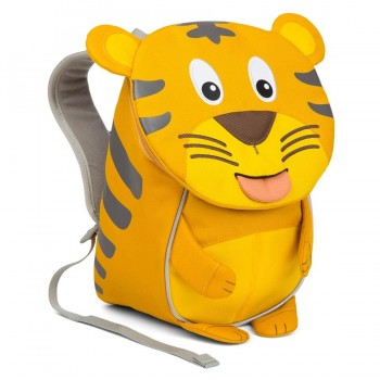 Affenzahn Kindergarten Rucksack 1-3 Jahre Tiger Timmy gelb