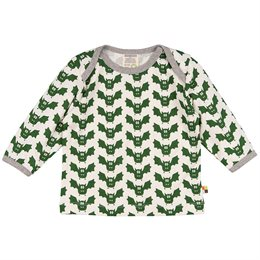 Bio Shirt Fledermaus grün