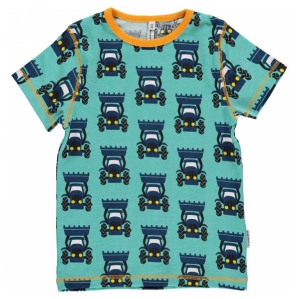 2947591dd94fc9 MAXOMORRA T-Shirt Traktor blau online kaufen