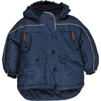 Vorschau: Schadstofffreie Kinder Winterjacke Schneejacke neutral in Jeansoptik von freds world by green cotton