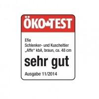 Vorschau: Efie Kuscheltier Affe Bubbles 48 cm