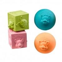 Öko Babyspielzeug ab 3 Monate Naturkautschuk