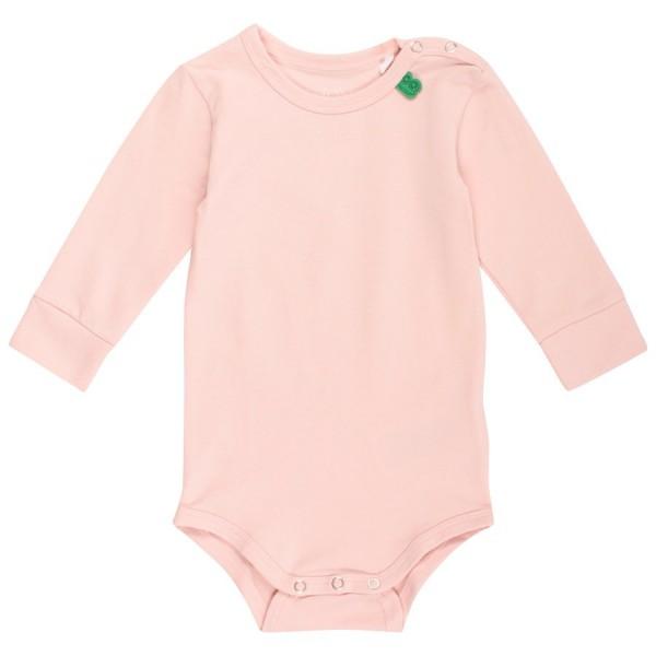 Softer langarm Body rosa