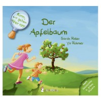 Komm, wir gehen näher ran! Pflanzlich gefärbtes Buch - Apfel