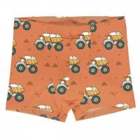 Kinder Boxershorts Kipplader orange