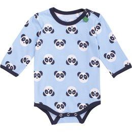 Panda Babybody langarm soft