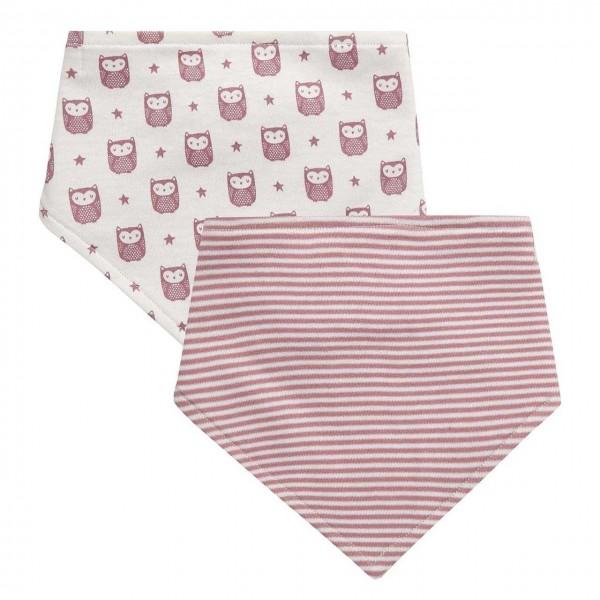 Bekleidung Baby Halstuch Dreieckhalstuch Nicki uni rosa