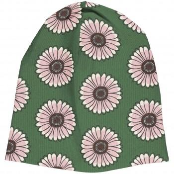 Beanie Ringelblumen in grün
