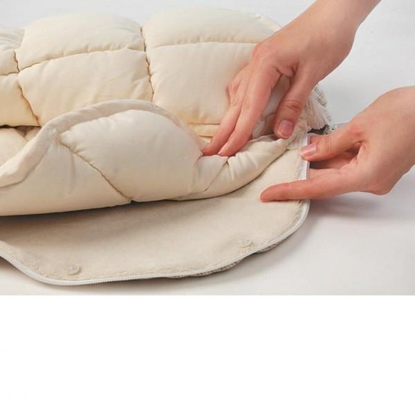 Warmer Daunen Innensack für Bambini Schlafsäcke