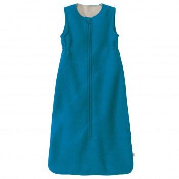 Blauer Babyschlafsack Schurwolle