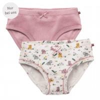 Slips Doppelpack Tiger rosa - Exklusiv bei greenstories