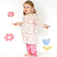 Leichtes Kleidchen rosa - Frühlingswiese