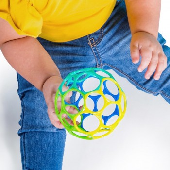 Oball Babyspielzeug 10 cm - blau grün