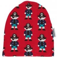 Vorschau: Warme gefütterte Beanie Mütze elastisch coole Piraten