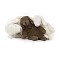 Vorschau: Schaf braun Kuscheltier & Wärmekissen Kirschkerne