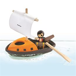 Piraten Boot für Wasserspiele