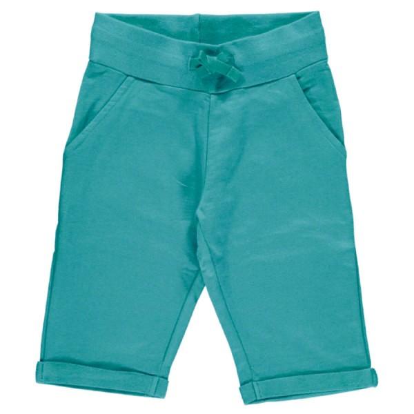 Sweat Shorts petrol - cool, ideal sommerlich und robust