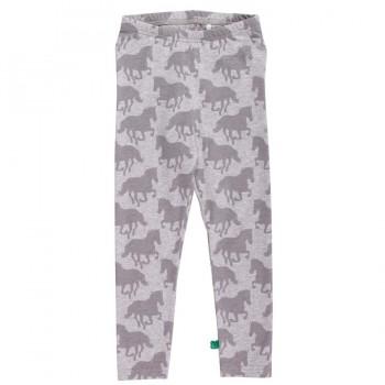 Süße Pferde leggings - grau
