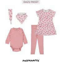 Vorschau: Bio Baby Body altrosa super soft