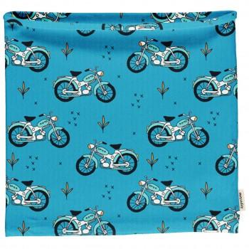 Schlauchschal leicht Mopeds in blau 98/104
