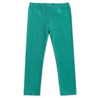 Bio Mädchen Leggings petrol grün blau