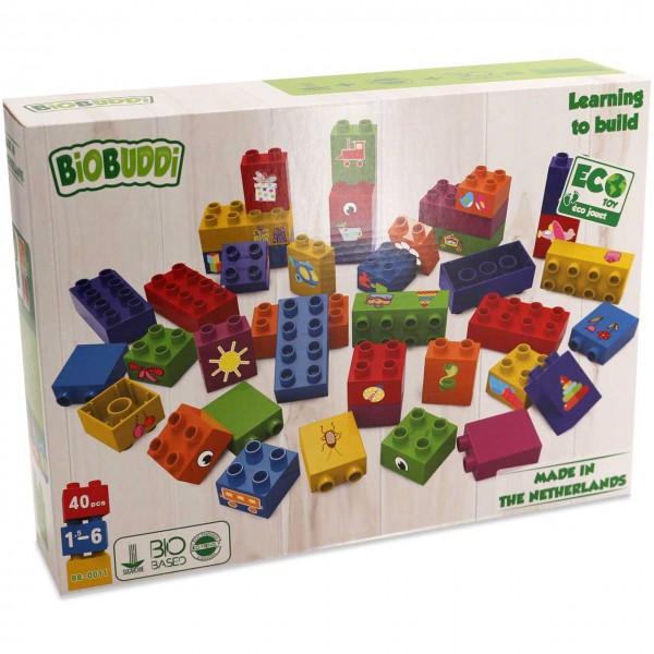 """Build"" Bauset 40 Bio Bausteine"