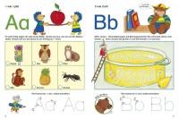 Vorschau: Buchstaben Spiele ab 4 Jahre Mitmachbuch