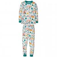 Schlafanzug mit Tier All-Over-Druck