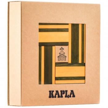 Steine Buch und Farben 40er Set (gelb/grün)