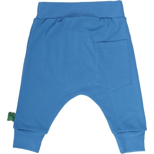 Krabbelhose funky & lässig - blau