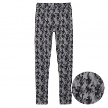 Leggings Batik-Optik Stretch grau