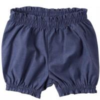 Leichte Mädchen Pumphose in Leinen-Jeansoptik
