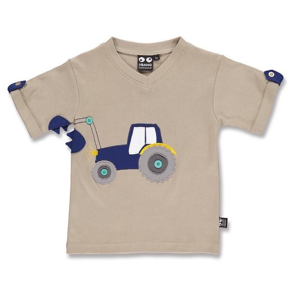 71a95880e5b1 Cooles Jungen T-Shirt Traktor sand   greenstories