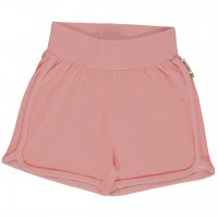 Leichte Jersey Shorts in rosa