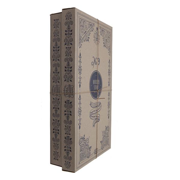 63 natürliche Bauklötze mit Box