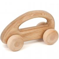 Holzauto zum Schieben – Holz Babyspielzeug ab 10 Monaten