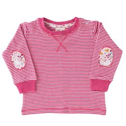 Langarm Shirt pink Patches