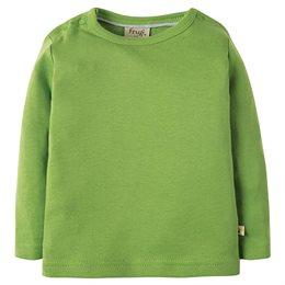 Dickes Langarmshirt grün