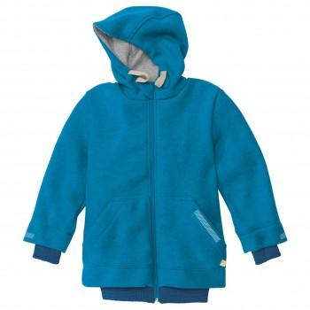 Walk Outdoor Jacke gefüttert in blau
