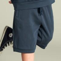 Griffig leichte Sweat Shorts dunkelblau
