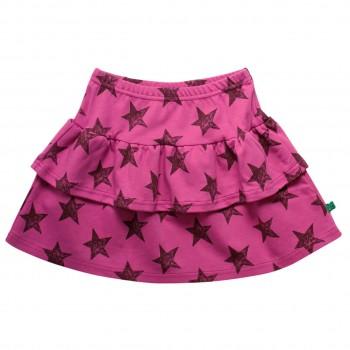 Flatter Sternen Rock pink
