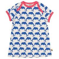Kleid Delfine blau