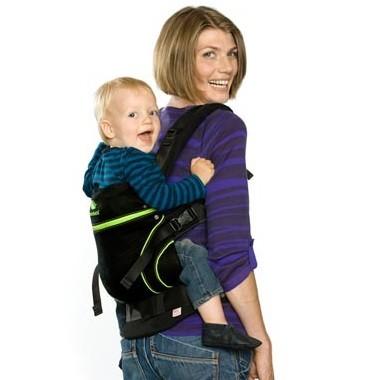 Black Line - Tragehilfe ab Geburt + Size-IT GRATIS!