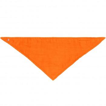 Musselin Dreiecktuch in orange
