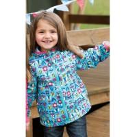 Super leichte Kinder Regen Jacke ungefüttert