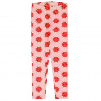 Leichte Jersey Leggings Wassermelonen in rosa