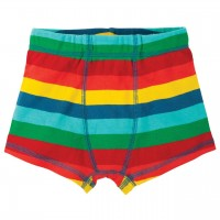 Jungen Boxershorts im Regenbogen-Design