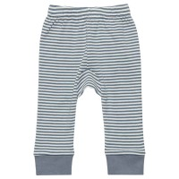 Bio Baby Leggings - blau gestreift