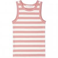 Unterhemd mit Streifen rosa